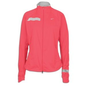 Nike Element Shield Running Jacket   Womens   Pink Clay/Reflective