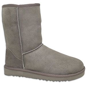 UGG Classic Short   Womens   Casual   Shoes   Grey