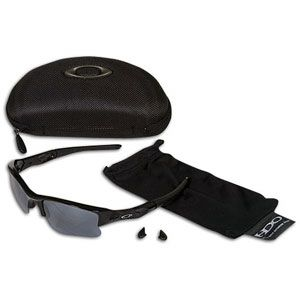 Oakley Flak Jacket XLJ Sunglasses   Baseball   Accessories   Jet Black