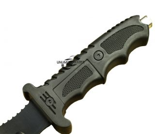 13 SURVIVOR TACTICAL BOWIE HUNTING KNIFE w/ GLASS BREAKER Survival