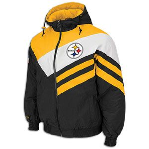 Mitchell & Ness NFL Weakside Jacket   Mens   Pittsburgh Steelers