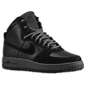 Nike Air Force 1 High   Mens   Basketball   Shoes   Black/Black