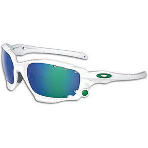 Oakley Racing Jacket Sunglasses   Baseball   Accessories   Matte White