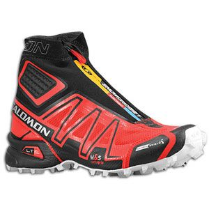Salomon Snowcross CS   Mens   Running   Shoes   Bright Red/Black