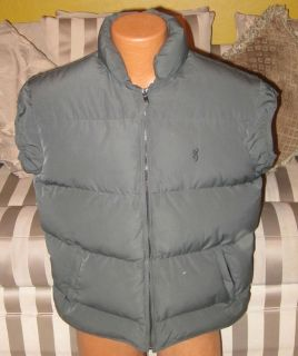 GOOSE Down Duvet DOIE Mens Hunting Winter Vest Size Large