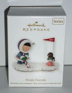 New Hallmark Keepsake 2012 FROSTY FRIENDS #33 In Series Christmas tree