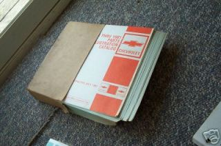 1976 81 Chevrolet Illustrated Parts Manual 10A New