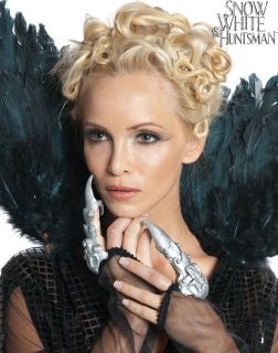 Finger Tips Silver Snow White The Huntsman Costume Adult Witch