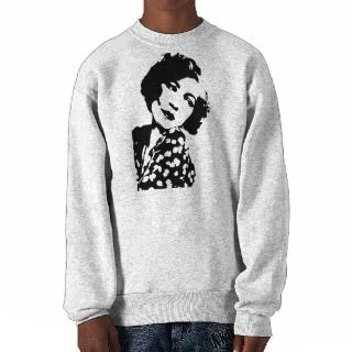 Woman ~ Vintage Retro Style Sweet Young Girl Pull Over Sweatshirts