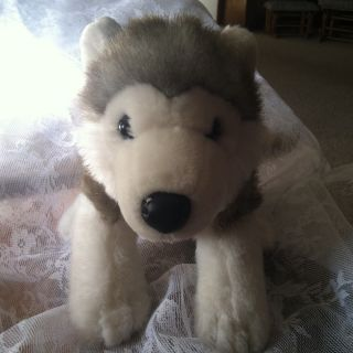 Build A Bear Wolf or Husky Plush Stuffed Animal Toy