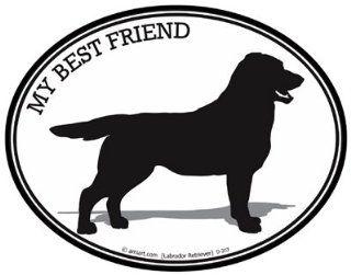 Dog Decal   LABRADOR RETRIEVER   MY BEST FRIEND   I Love my Labrador