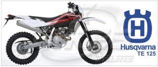 Husqvarna TE 125 Motorcycle Bike Biker Mug Cup 558