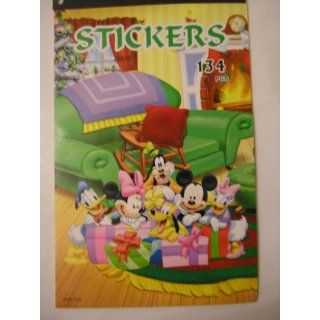 Mickey Mouse & Friends Sticker Book ~ 134 pc Stickers Toys & Games