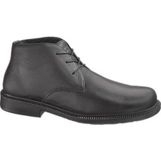 Hush Puppies Broker Mens Black Leather Shoe H100351
