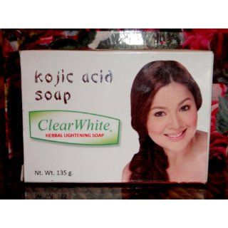White Brand Herbal Kojic Acid Whitening Soap 135 gram Everything Else