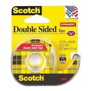 Scotch 137   665 Double Sided Office Tape w/Hand Dispenser