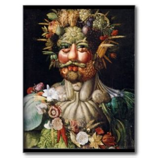 Giuseppe Arcimboldo Vegetable Man (Vertumnus) Post Card