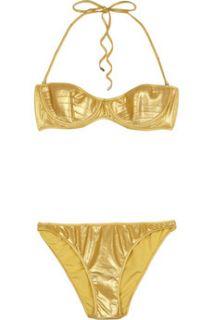 Tomas Maier Vedette lamé bikini