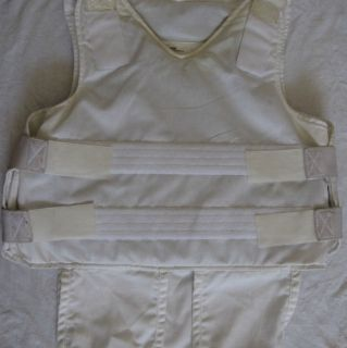 US Armour Bullet Proof Vest w White Cover 48 Hours Sale Only