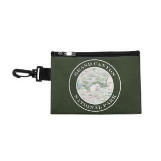 Grand Canyon National Park, AZ Area Map Souvenir Accessories Bags