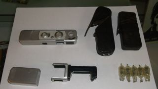 Minox B Spy Camera with Flash Focus Cases