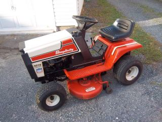 Simplicity 4212 Hydrostatic 12hp Lawn Garden Tractor 42 Mower Low