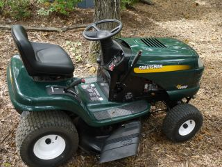 lt1000 17 5 hp 42 riding lawn mower garden tractor hydrostatic zero