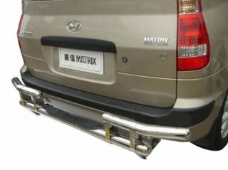 Hyundai Matrix Rear Skid Back Bumper Bar Protector Bars