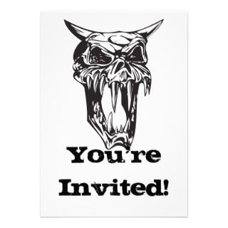 Evil Clown Invitations, 40 Evil Clown Announcements & Invites