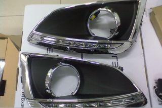 Daytime Running Driving light Fog Fit For Hyundai IX35 100% waterproof