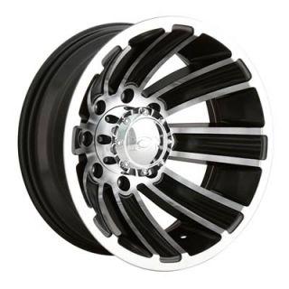Ion Wheel 166 Series Aluminum Black 17x6 5 8x6 5 9 026 Backspace