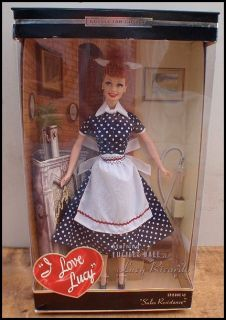 2004 Mattel Barbie I Love Lucy Doll Episode 45 Sales Resistance