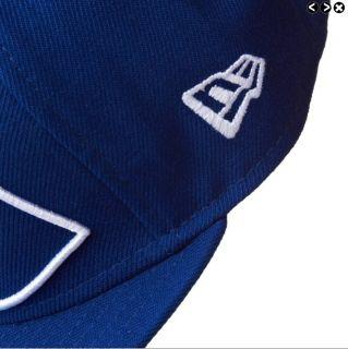 New DC Shoes Coverage Mens New Era Sport Blue Cap Hat Size 7 5 8 60 6