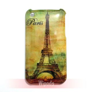 Paris Eiffel Tower Designer Hard Back Case Cover Skin for Apple iPhone