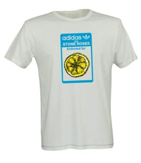 Roses One Off T Shirt Manchester Ian Brown Oasis Heaton Park