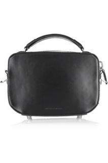 Alexander Wang Rafael leather and rabbit box bag