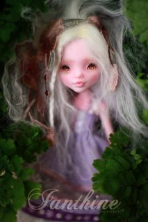 Ianthine OOAK Custom Repaint Monster High Doll Draculaura by