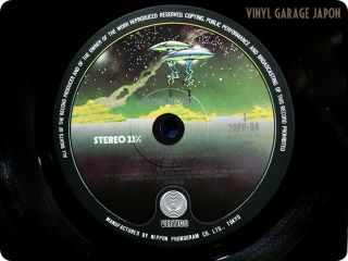 Wax Mob Rules 1981 Japan Ozzy Osbourne Ian Gillan OBI LP W483