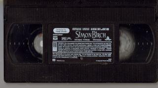 Simon Birch Joseph Mazzello Ian Michael Smith Ashley Judd Drama VHS