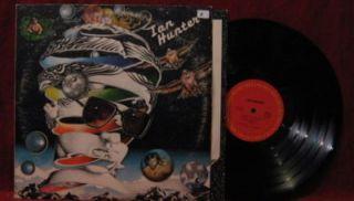 Ian Hunter 1975 Self Titled Vinyl LP Record Album Mott The Hoople Once