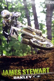Oakley `06 James Bubba Stewart Moto x Poster Huge