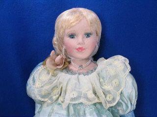 Velvet 18 Duck House Heirloom Doll Never Completely Unpacked Free US