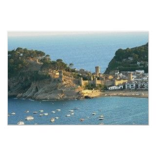Tossa Del Mar, Costa Brava, Spain Posters