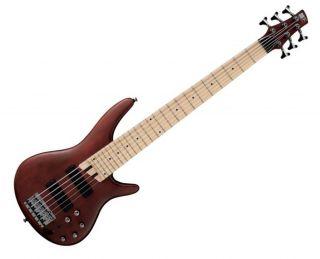 Ibanez SR506 6 String Electric Bass Guitar Brown Mahogany SR 506