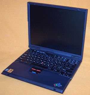 IBM Thinkpad T22 2647 Mobile Laptop Notebook Computer Powers On, Boots