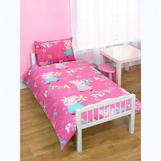 Adorable Rotary Junior Cot Bed Duvet Quilt Cover Set Brand New