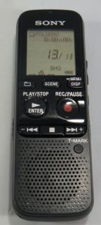 Sony ICD PX312 T Mark Digital Voice Recorder