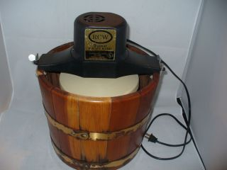 Vintage RCW Electric Ice Cream Maker Freezer