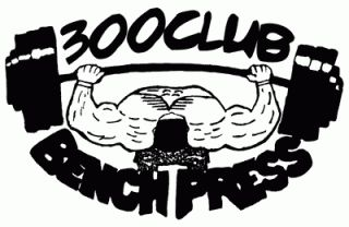 300 Club Bench Press    300 Club Workout Shirt    T Shirts