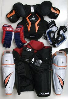New Ice Hockey Equipment Kit Complete Set Senior SR Men
